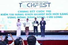 Dự án 'Giấy dừa Bến Tre' giành giải Nhất thi tài năng khởi nghiệp đổi mới sáng tạo