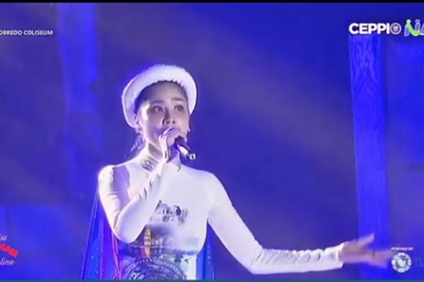 Hoàng Hạnh 'phá nát' Tàu anh qua núi ở Hoa hậu Trái đất