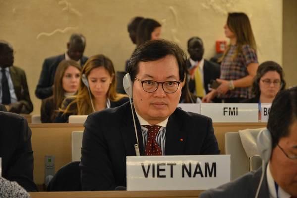 Hội đồng nhân quyền LHQ thông qua Nghị quyết về quyền con người do Việt Nam là đồng tác giả