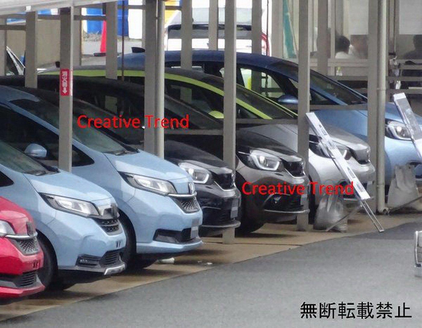Những hình ảnh mới được hé lộ của Honda Jazz / Fit 2020 trước thềm Tokyo Motor Show 2020