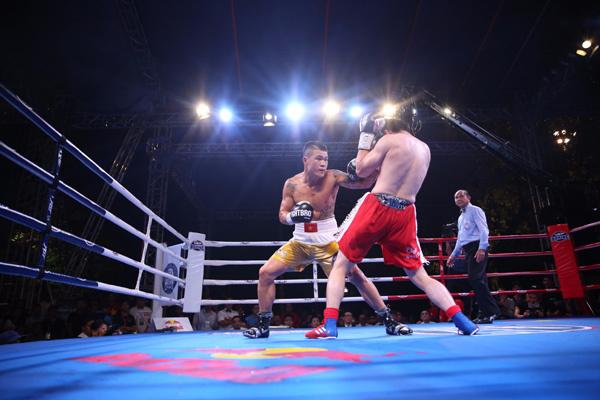 Victory 8 - trải nghiệm độc đáo từ sàn đấu boxing ngoài trời