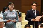 Bà Quyết Tâm nghẹn ngào khóc tranh luận với Chủ tịch VCCI về giờ làm thêm