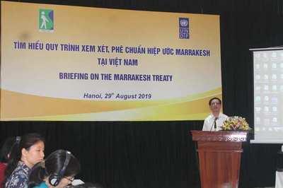 Hiệp ước Marrakesh: Đảm bảo quyền tiếp cận tri thức cho người khuyết tật