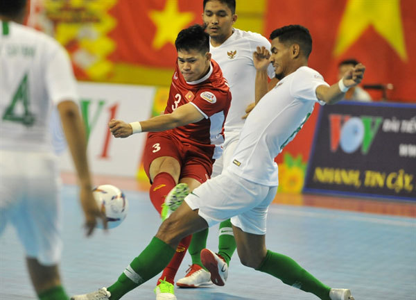 Vietnam and Indonesia draw in AFF futsal tourney