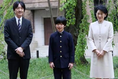 'Hoàng tử bé' gánh vác vận mệnh hoàng gia Nhật
