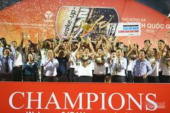 V-League hạ màn: Hà Nội vô đối, Khánh Hòa rớt hạng