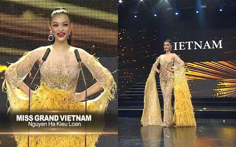 Kiều Loan khoe lưng trần, người đẹp Ai Cập hớ hênh tại bán kết Hoa hậu Hòa bình 2019