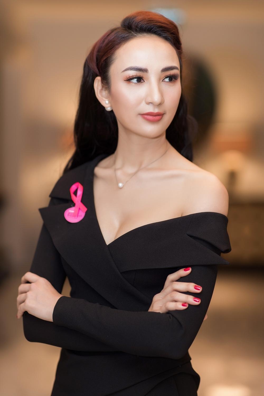 Ngọc Diễm chung tay ủng hộ phong trào phòng tránh ung thư vú