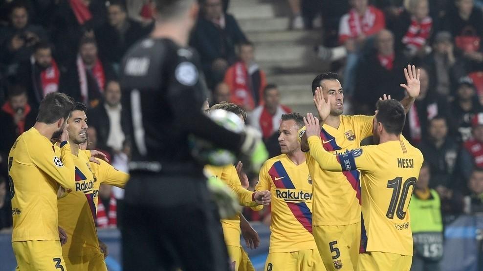 Barca,Messi,Slavia Praha