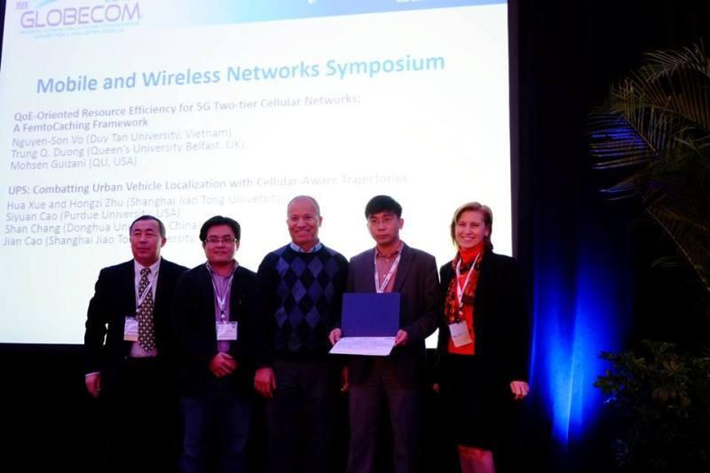GS Việt đoạt giải nghiên cứu khoa học xuất sắc tại hội nghị viễn thông hàng đầu