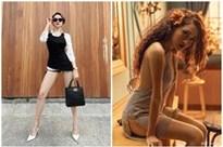 Sau trang phục 'bánh tét', Bảo Anh lại khiến người đối diện tưởng cô 'không mặc quần'