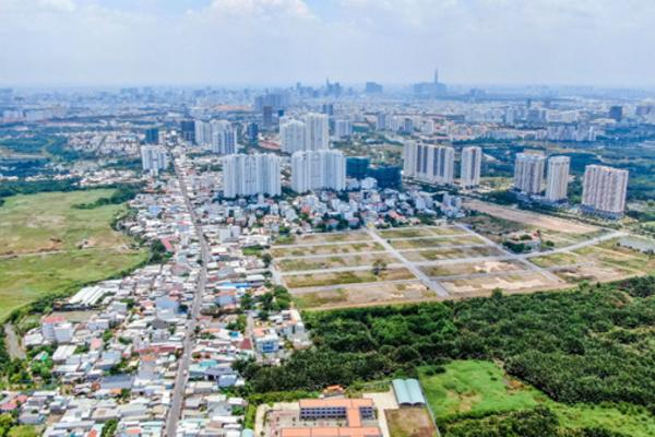 TP.HCM hiếm nguồn cung, nhà đầu tư đổ về Nam Sài Gòn