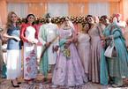 Ngọc Hân, Phương Nga dự đám cưới xa hoa con gái đại gia Ấn Độ