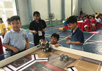 Students at HCM City primary schools win top prize at Robothon