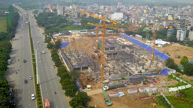 Đại công trường bệnh viện 5 sao 2.000 tỷ xây 'chui' sắp bị cưỡng chế