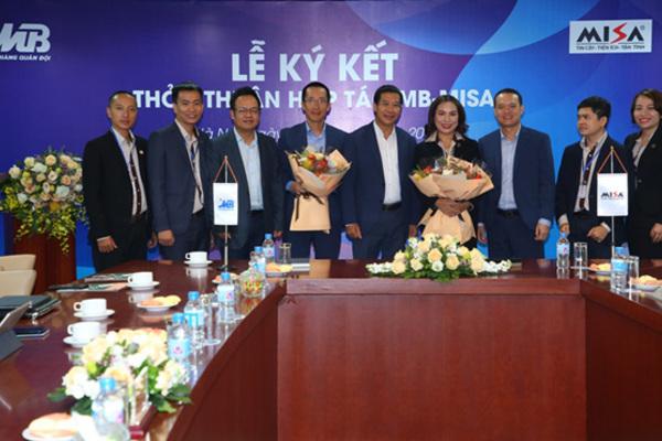 MB và MISA ký kết thỏa thuận hợp tác chiến lược