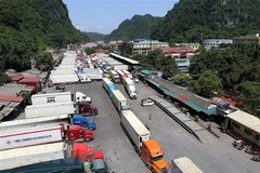 Customs to work extra hours to clear truck jam at Vietnam-China border