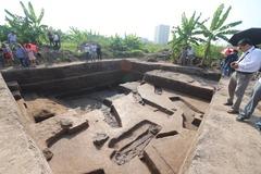 Phát hiện nhiều tầng văn hóa khi khai quật di chỉ Vườn Chuối