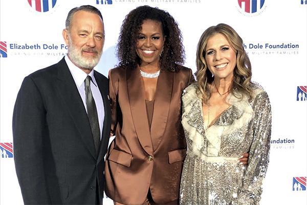 Cựu phu nhân tổng thống Mỹ Michele Obama mặc đồ của NTK Công Trí