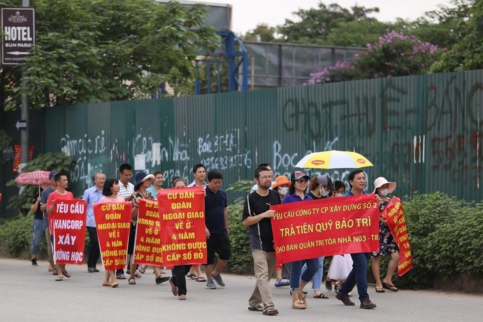 'Bát nháo' chuyển nhượng dự án khu Đoàn ngoại giao, dân mòn mỏi chờ sổ đỏ