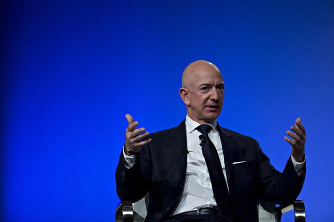 tỷ phú USD,Bill Gates,Jeff Bezos,Amazon,Microsoft