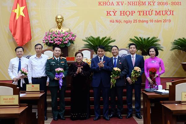 Hà Nội họp bất thường bầu, miễn nhiệm nhiều nhân sự