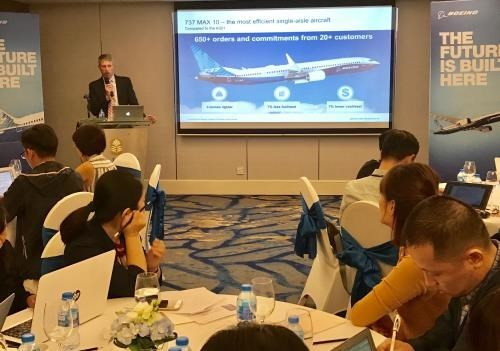 Vietnam a driver in Southeast Asia's aviation growth: Boeing