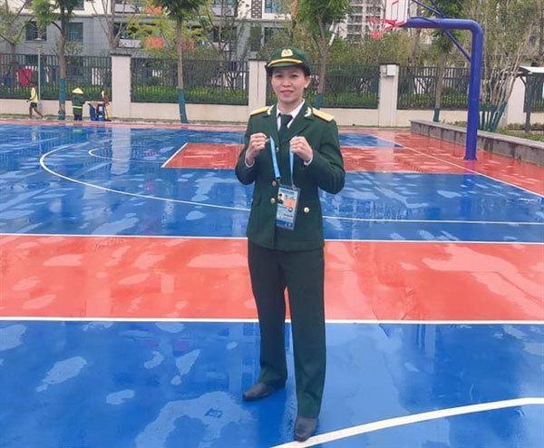 Vietnamese boxer wins Military Games bronze