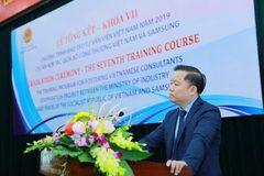 Samsung hoàn thành 2 khóa cuối cùng dành cho chuyên gia Công nghiệp hỗ trợ của Việt Nam