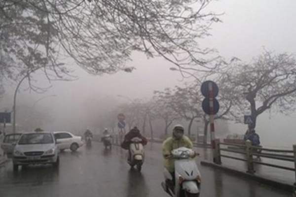 Cold air to cause dangerous weather in Vietnam's northern and central regions