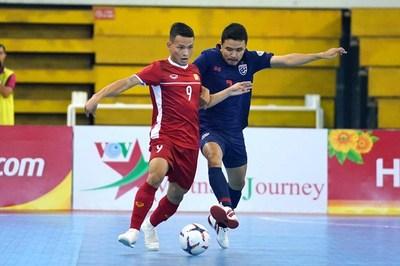 ĐT futsal Việt Nam không thể gây bất ngờ trước Thái Lan
