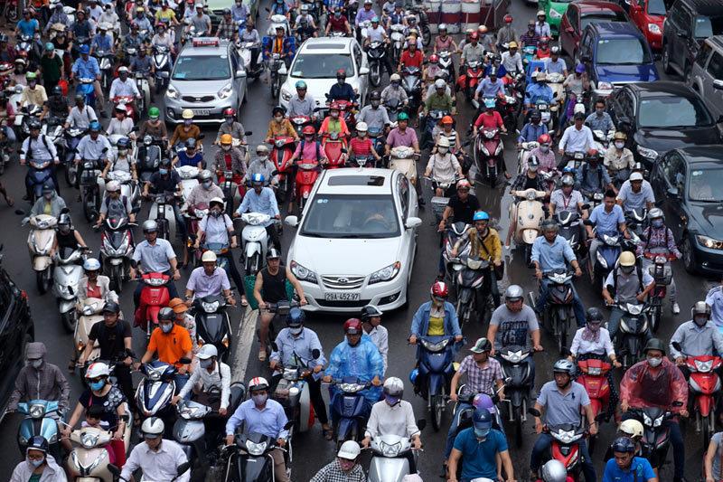 Cấm Xe Máy,Hà Nội