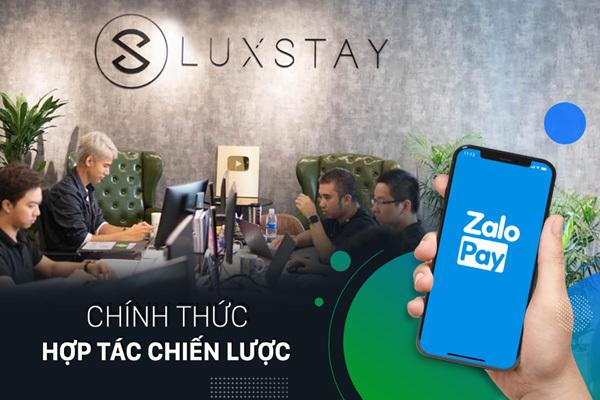 ZaloPay bắt tay Luxstay triển khai dịch vụ đặt và thanh toán homestay