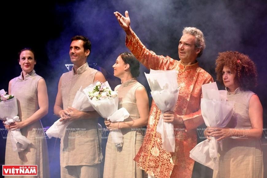"French artists perform masterpiece 'Tale of Kieu"""