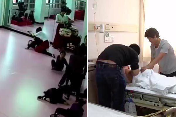 Trung Quốc,tai nạn,liệt nửa người,học múa