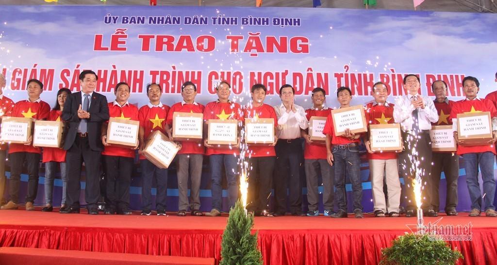 Trương Tấn Sang,tàu cá,Bình Định,ngư dân