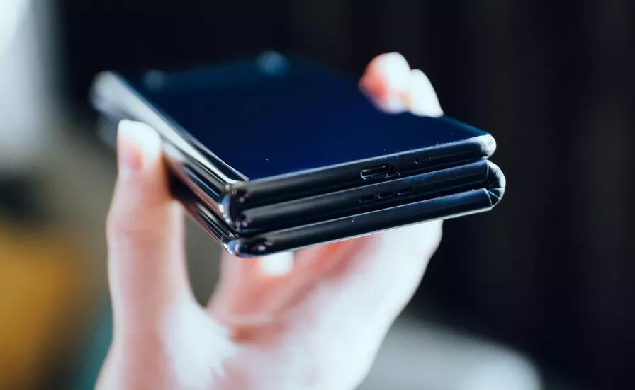 Smartphone màn hình gập,TCL