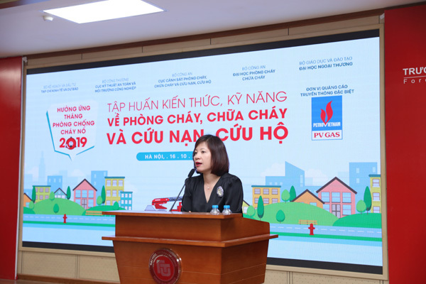 3 hoạt động nổi bật trong Tháng phòng chống cháy nổ 2019