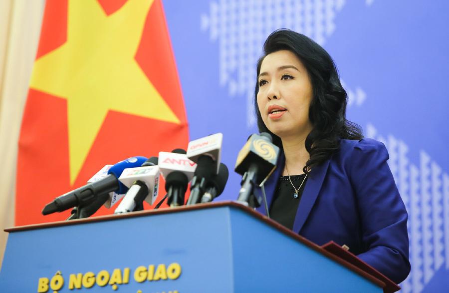 Bộ Ngoại giao thông tin việc tàu Trung Quốc rút khỏi vùng biển Việt Nam