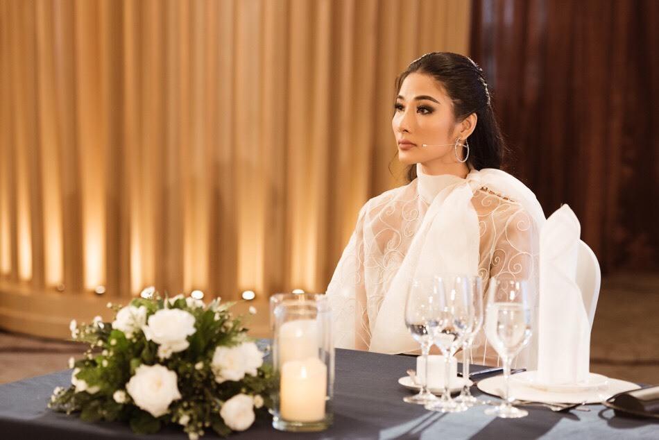 Á hậu Thúy Vân,Hương Ly,Á hậu Hoàng Thùy,Miss Universe