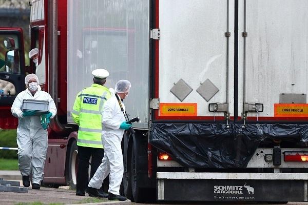 Nguyên nhân khiến 39 người chết tức tưởi trong công-ten-nơ ở Anh