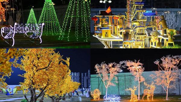 Lộng lẫy lễ hội ánh sáng ở Hạ Long