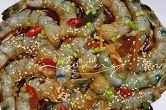 Tôm ngâm tương Hàn Quốc, món ngon lạ miệng