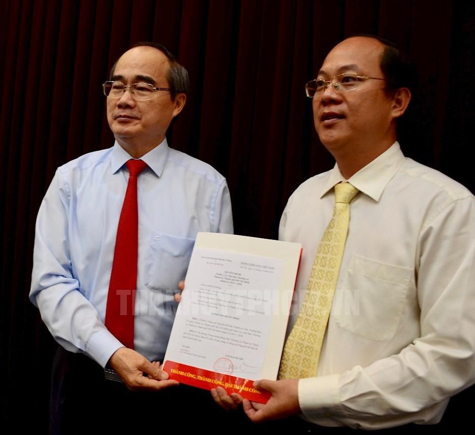 Ban Bí thư chuẩn y 3 ủy viên Ban Thường vụ Thành ủy TP.HCM