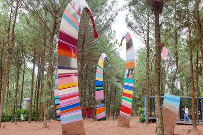 Không gian trưng bày các tác phẩm điêu khắc lớn nhất Đông Nam Á tại Đại Lải