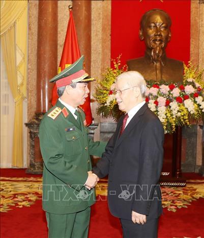 Tổng bí thư,Chủ tịch nước Nguyễn Phú Trọng,Nguyễn Phú Trọng,thăng quân hàm,Bộ Quốc phòng
