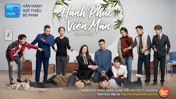 Hạnh phúc viên mãn - 'đối thủ nặng ký' của phim Việt về đề tài gia đình