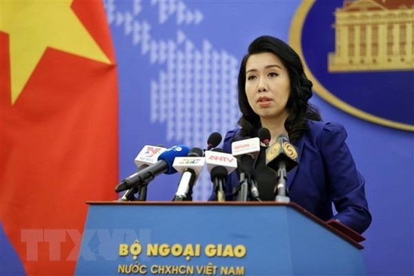Spokesperson answers query on Chinese ships' exit from Vietnamese waters