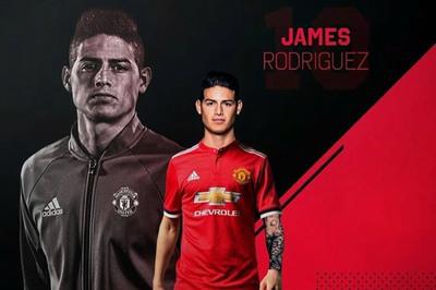 Bị Real Madrid bỏ rơi, James Rodriguez cầu cứu MU