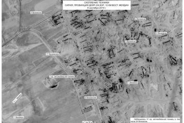 Nga công bố ảnh vệ tinh tố Mỹ 'buôn lậu' dầu của Syria